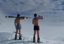 zima skijaci
