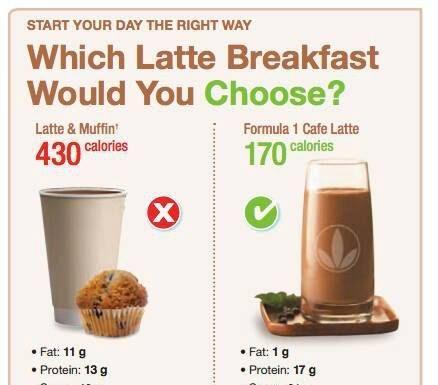 појадок, breakfast, formula 1 shake herbalife
