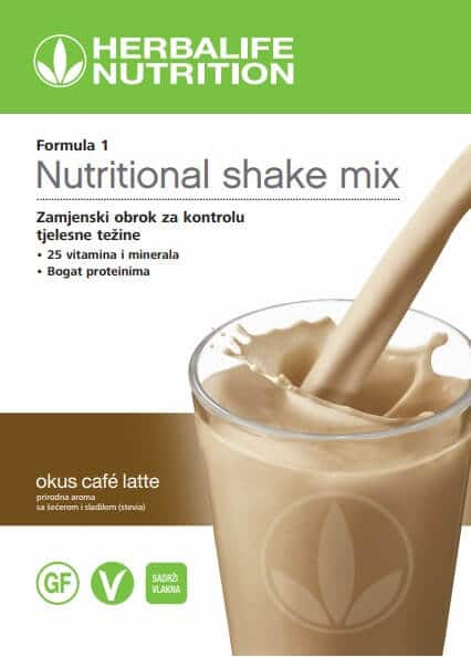 Cafe Latte Formula 1 шејк