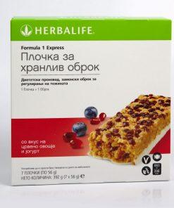 formula 1 ekspress plocka so vkus na tropsko ovosje i jogurt формула 1 експрес плочка со вкус на тропско овошје и јогурт